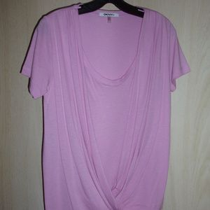 DKNYC Pink Blouse Size X-Small